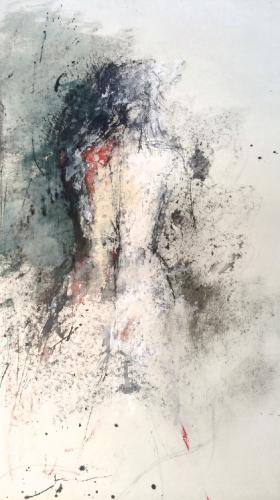 lyrical, figurative, nudes, paining, Jouke Kruijer