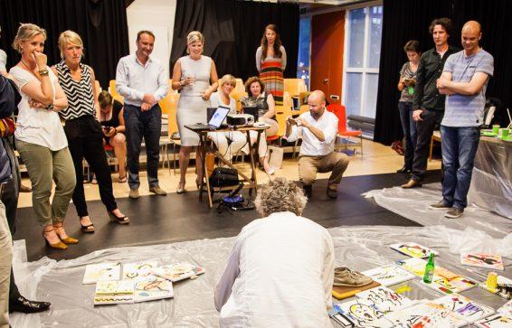 Kunst Jouke Kruijer kunstenaar workshop
