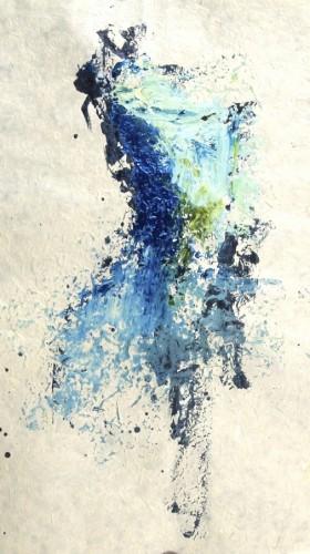 acrylic ink art kunstenaar Jouke Kruijer