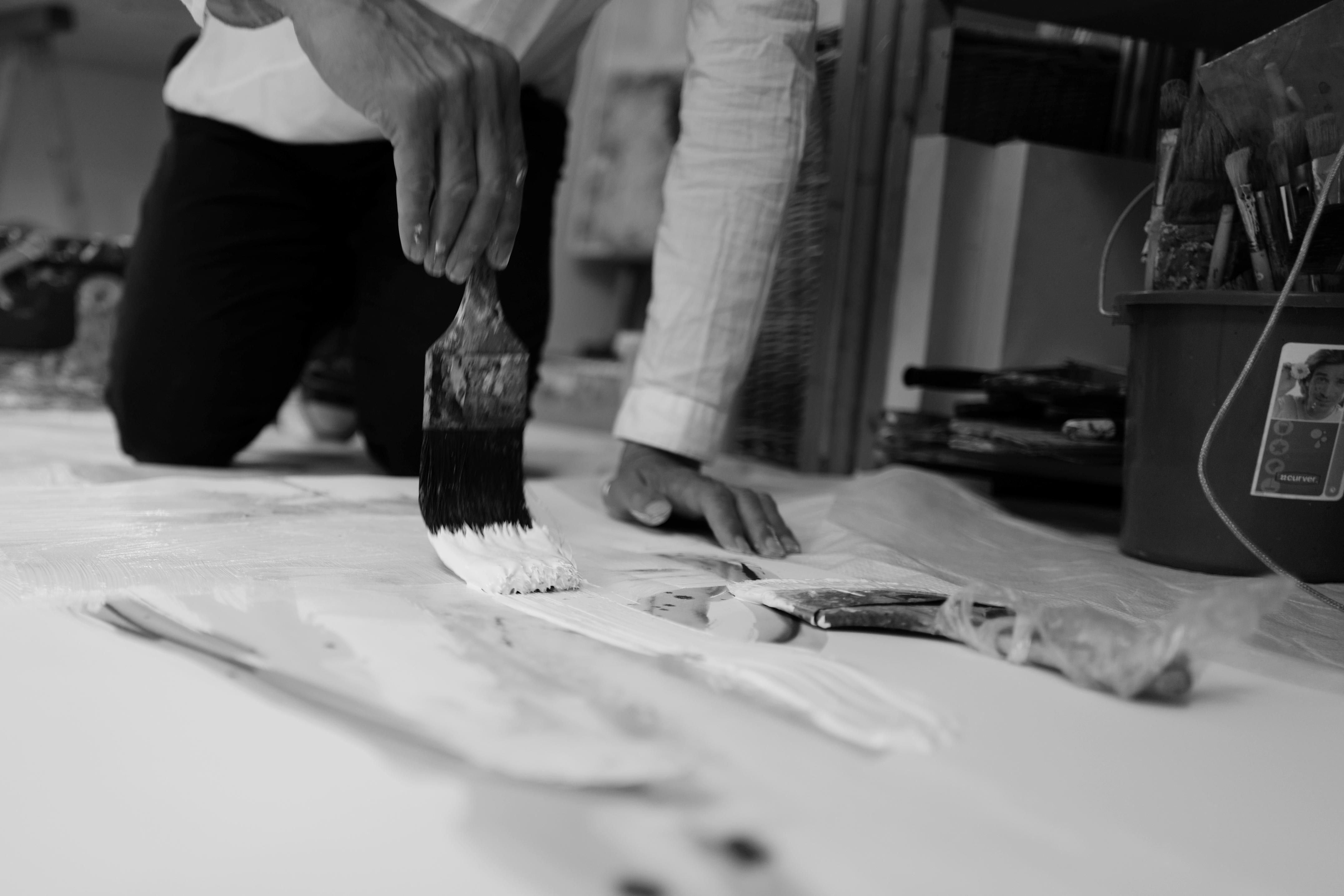 Jouke Kruijer art ashridge action research